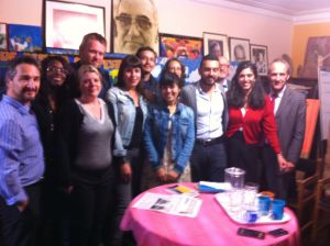 Katie on the 2014 Colombian Caravana Delegation visit