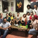 Caravana delegates visiting lawyers and human rights defenders in Bucaramanga, Colombia